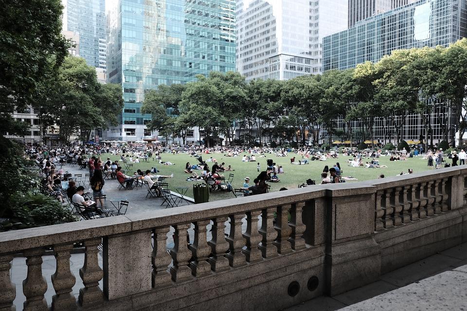 Park, City Park, New York City, Manhattan, Architecture