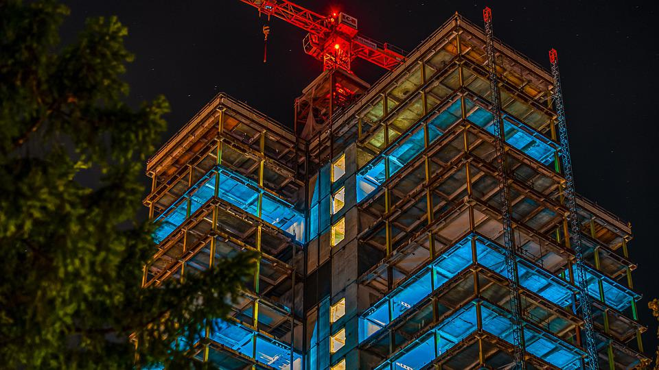 Night Photograph, Long Exposure, Architecture, Night