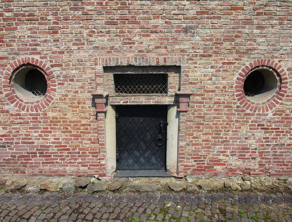 Building, Door, Architecture, Brick, Old, Entrance
