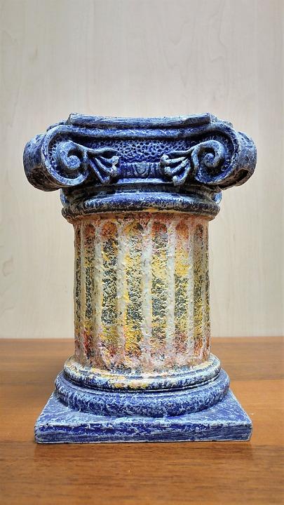Architecture, Old, Ancient, Column, Ornament, Capitello