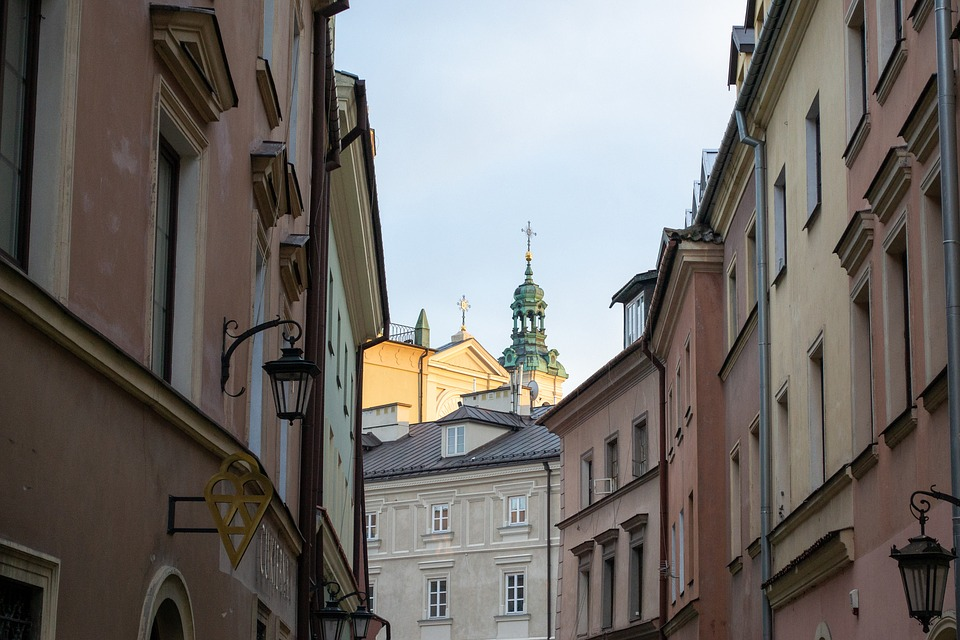 Lublin, Old Town, Tower, Clock, History, Architecture