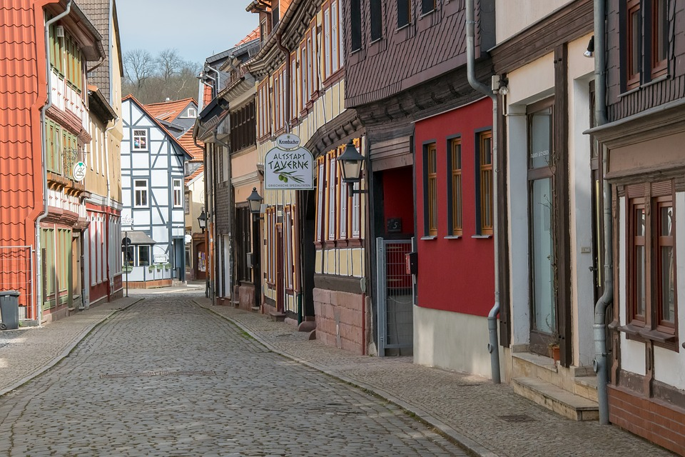 Architecture, Road, Old Town, Patch