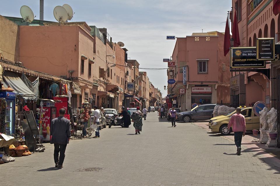Morocco, Oriental, Marrakech, Orient, Architecture