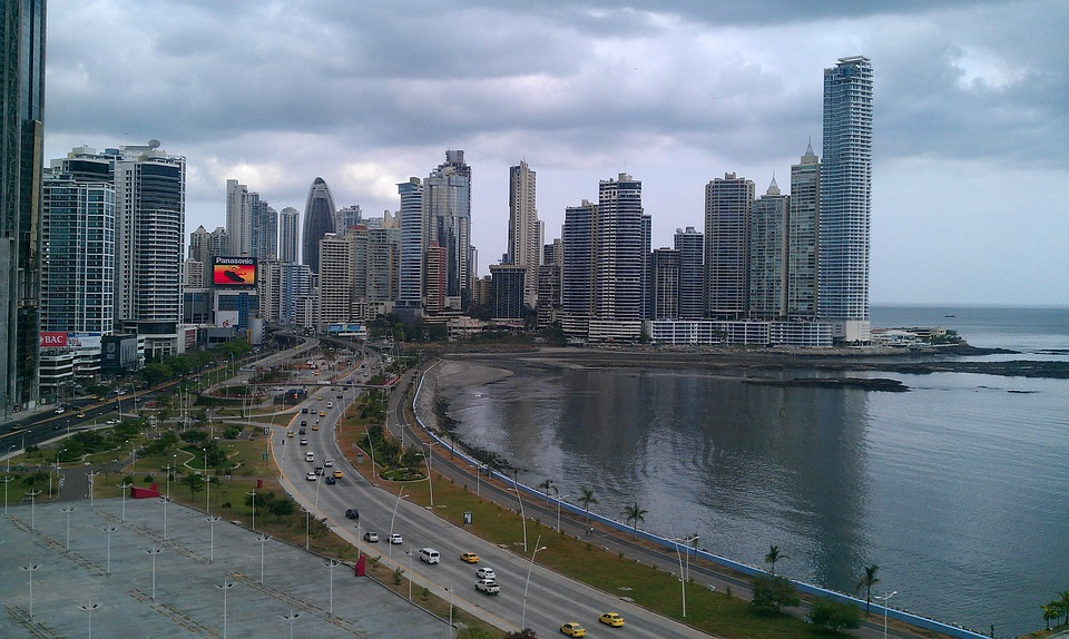 Panama, Bay, Architecture, Skyline, City, Cityscape