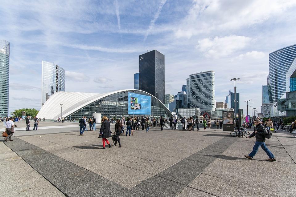 Architecture, Paris, France, La Defense