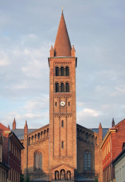 Architecture, Building, Peter And Paul Church, Potsdam