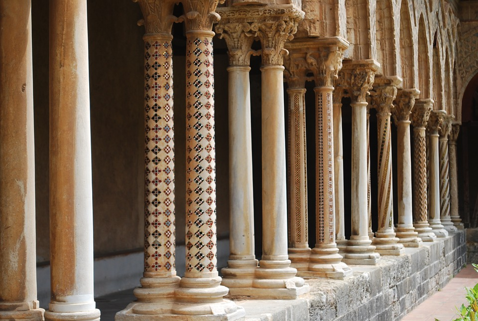 Columns, Pillars, Ancient, Architecture, Style, Ornate
