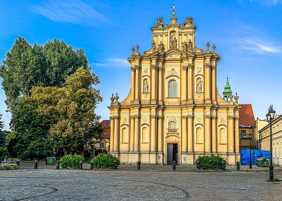 Warsaw, The Centre Of, Poland, Architecture, City