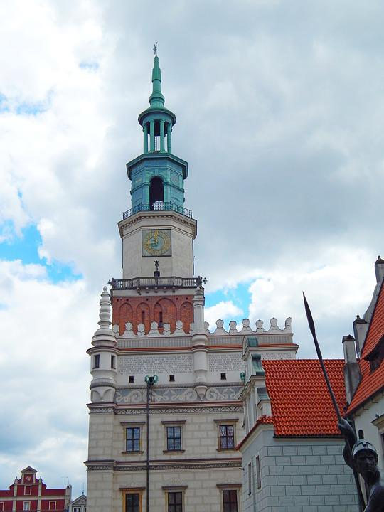 Poznan, City, The Old Town, Architecture, Monument