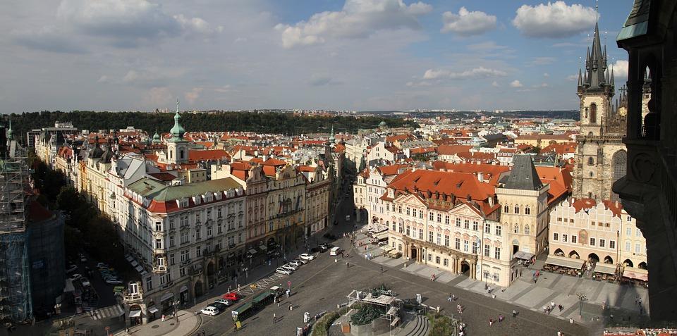 Prague, Architecture, Czech, Republic, City, Historic