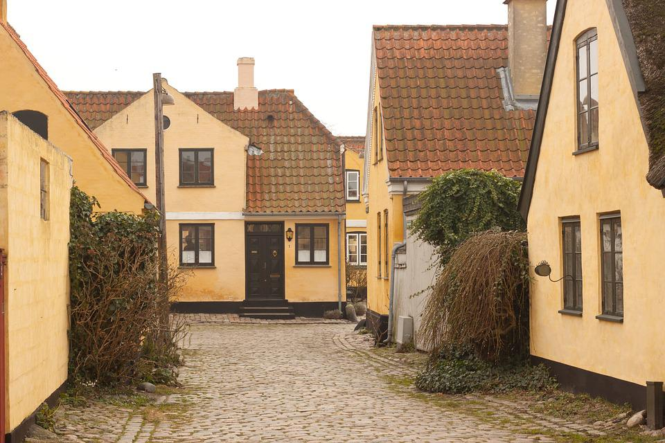 Fisherman, Village, Dragør, Spawn, Road, Architecture