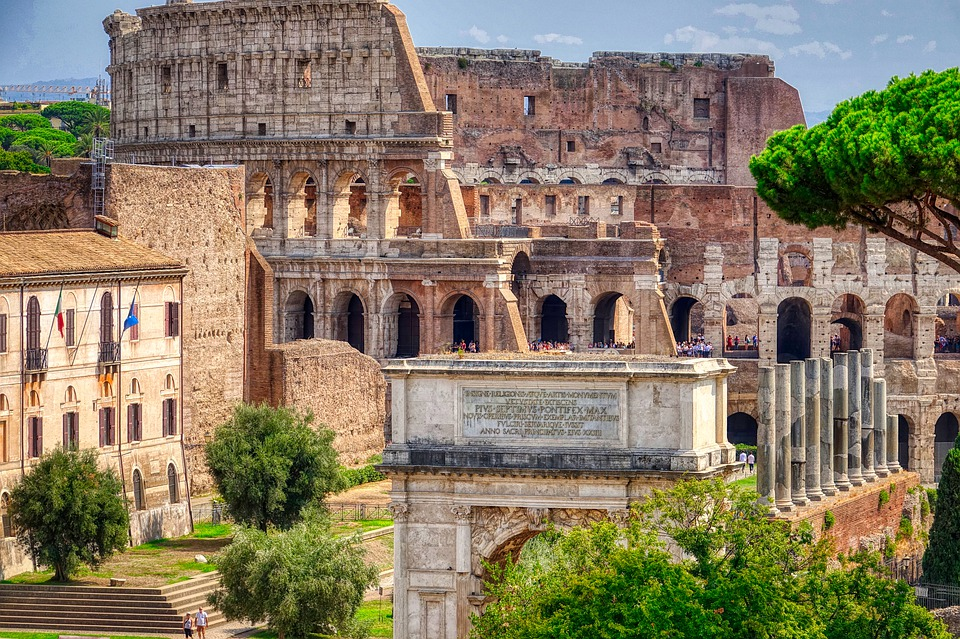Italy, Rome, Colosseum, Architecture, History