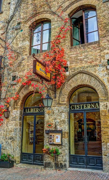 San Gimignano, Italy, Tuscany, Architecture, Ancient