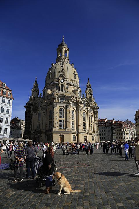Dresden, Germany, Frauenkirche, Saxony, Architecture