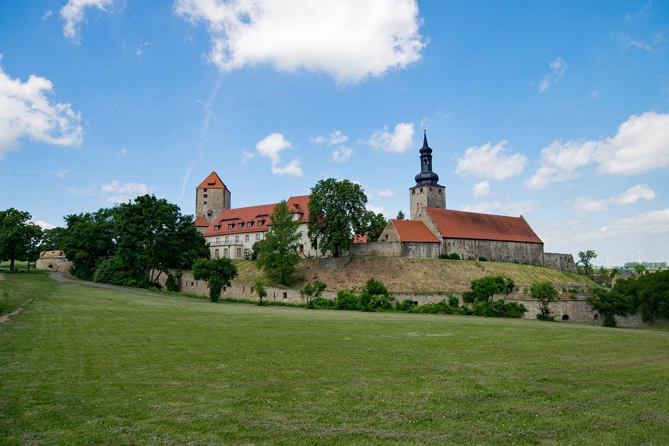 Castle, Querfurt, Saxony-anhalt, Germany, Architecture