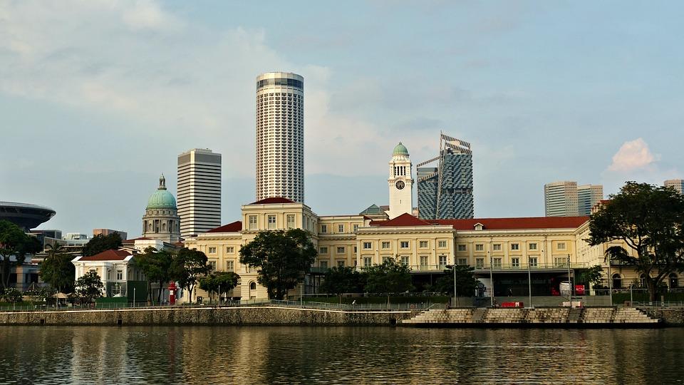 Marina Bay Sands, Singapore, Hotel, Architecture, Asia
