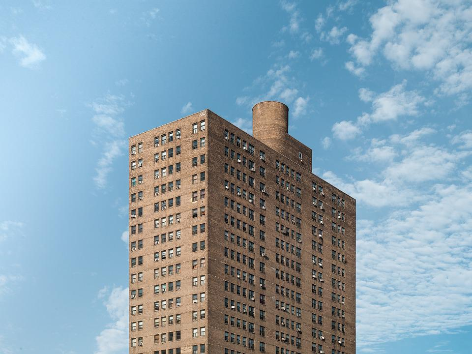 Architecture, Building, High-rise, Perspective, Sky