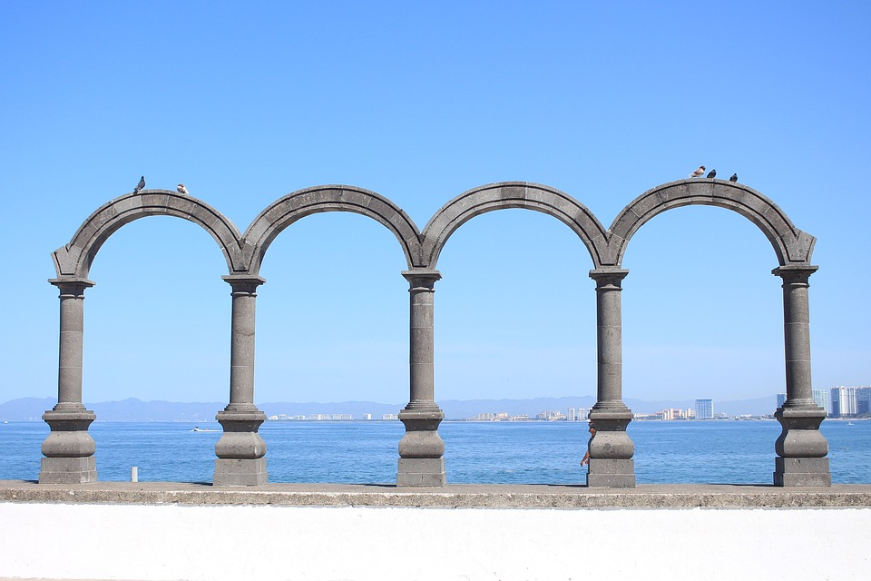 Architecture, Old, Stone, Sky, Travel, Beach, Sea