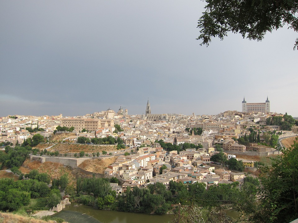 Toledo, Spain, Old City, Architecture, Skyline, City
