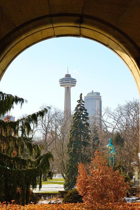 Skylon Tower, Niagara Falls, Architecture, Arch