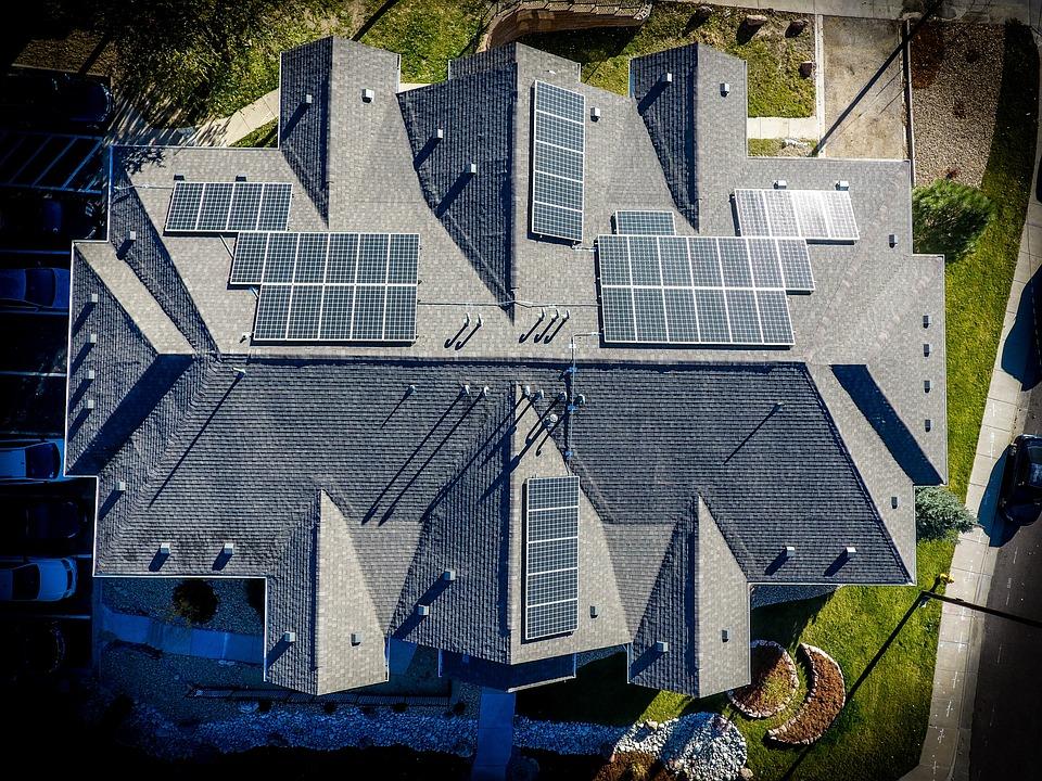 Architecture, Solar, Solar Panels, Energy, Electricity