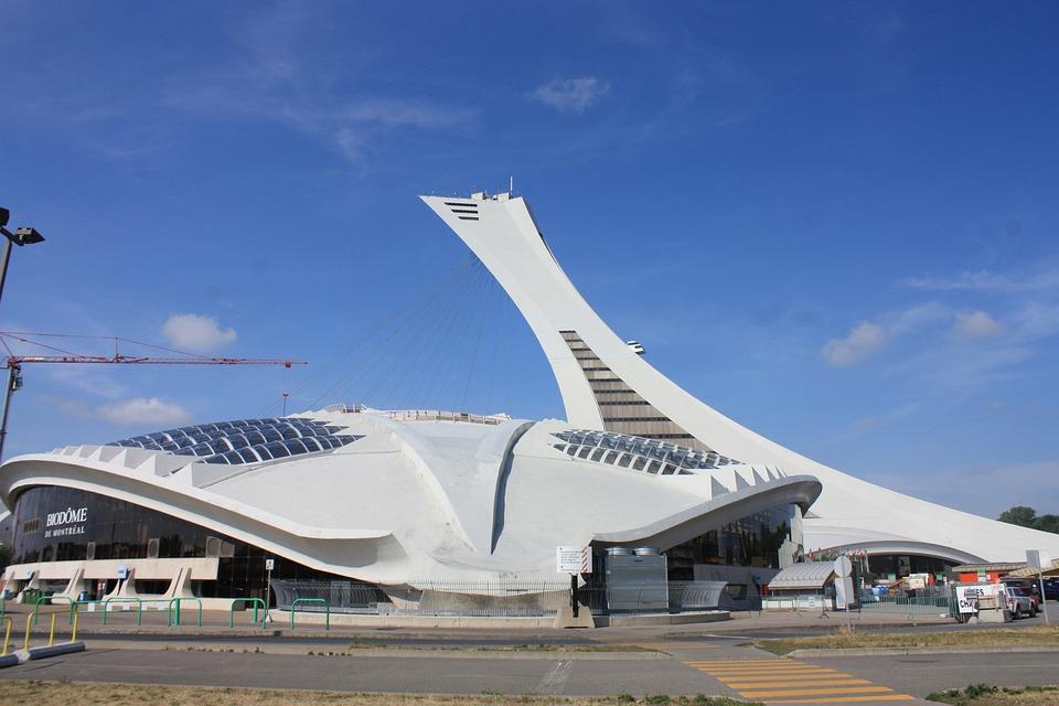Montreal, Olympic Stadium, Stadium, Architecture