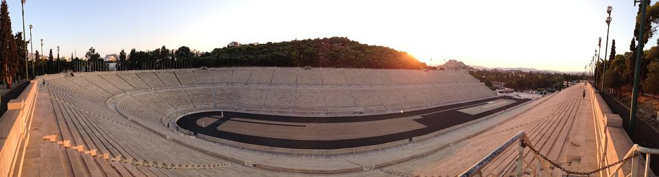 Olympic, Stadium, Athens, Greece, Architecture