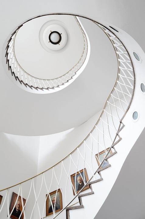 Spiral, Architecture, Stairs, Ihk, Dortmund, Staircase