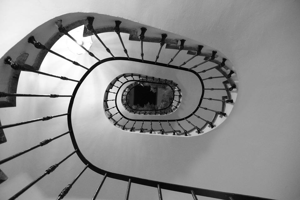 Ladder, Snail, Stairs, Spiral, Architecture, Building