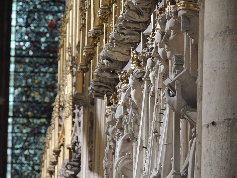 Church, Cathedral, York, Statue, Architecture, Famous