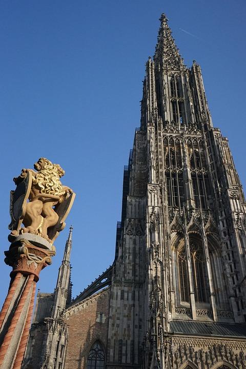Ulmer, Münster, Building, Architecture, Steeple, Fig
