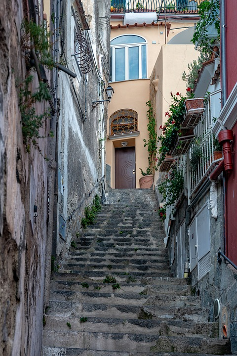 Path, Way, Steps, Stairs, Architecture, Street, Old