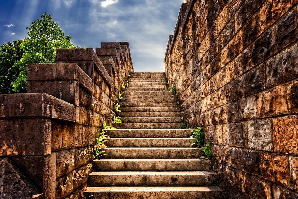 Steps, Stairs, Architecture, Masonry, Path
