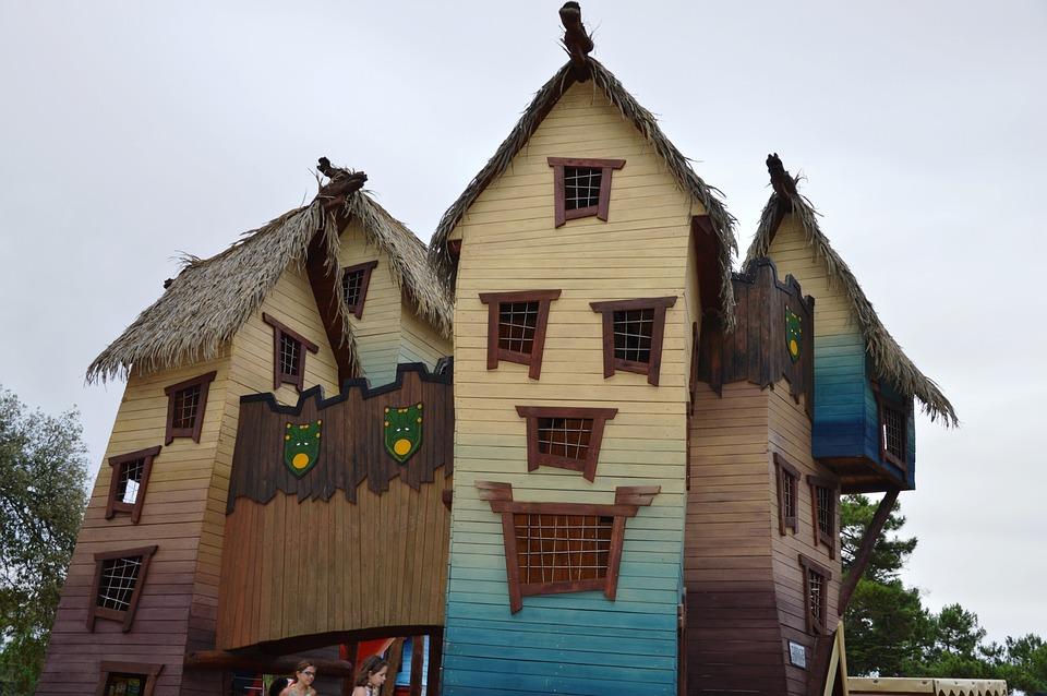Strange, Architecture, Games, Children's Home