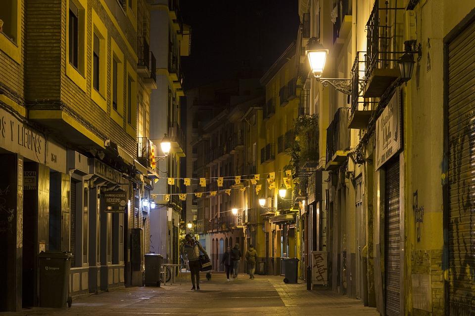 Street, Night, City, Lights, Urban, Architecture