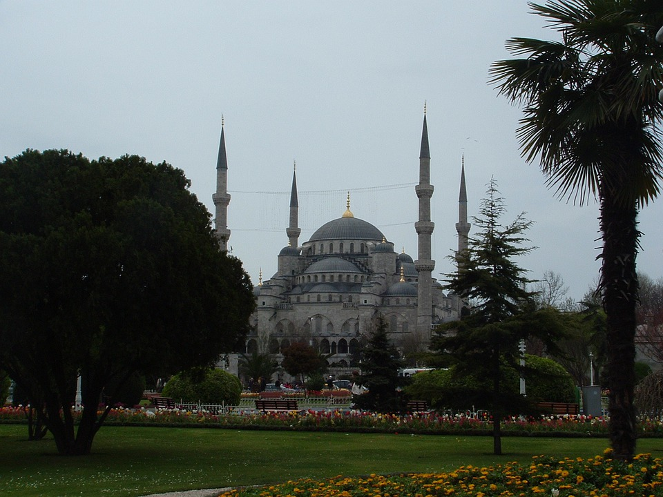 Istanbul, Sultanahmet, Turkey, Architecture, Minarets