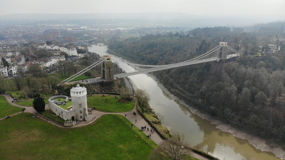 Clifton, Bridge, River, Suspension, Architecture
