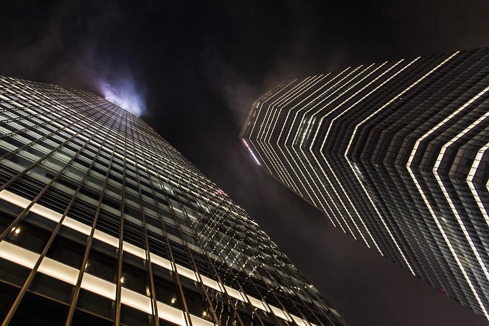 Architecture, Skyscrapers, Szangchaj