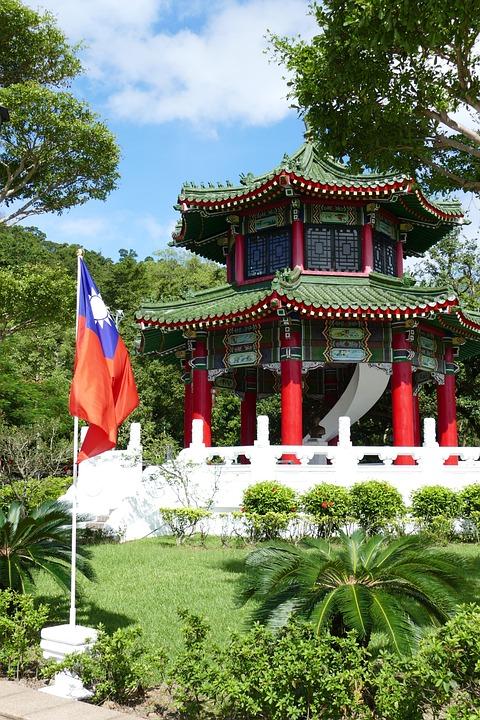 Taiwan, Taipei, Capital, Cenotaph, Architecture, Asia
