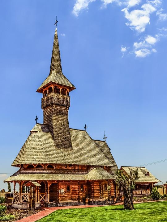 Tamassos Bishop, Romanian Church, Wooden, Architecture