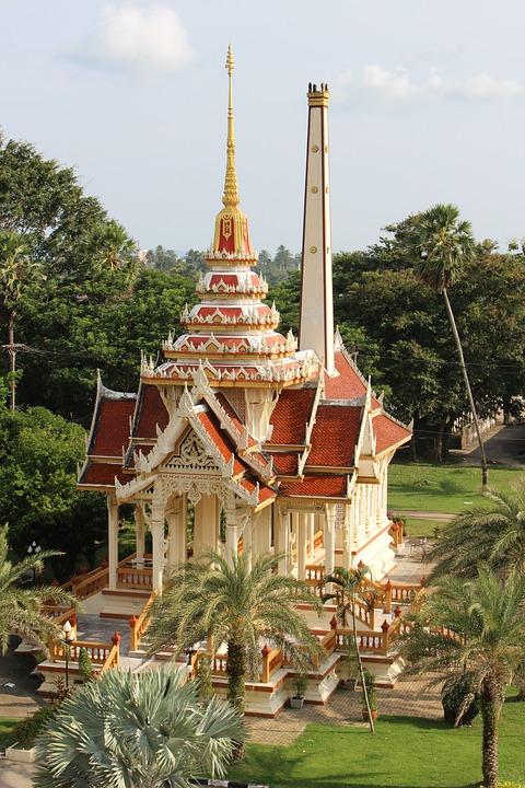Thailand, Temple, B, Buddhism, Wat, Architecture
