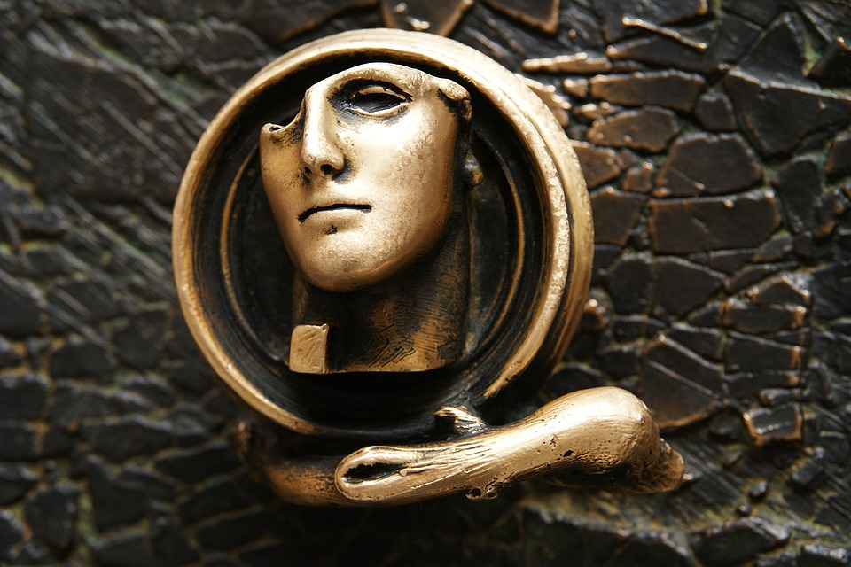 Sculpture, Metalwork, Face, The Art Of, Architecture