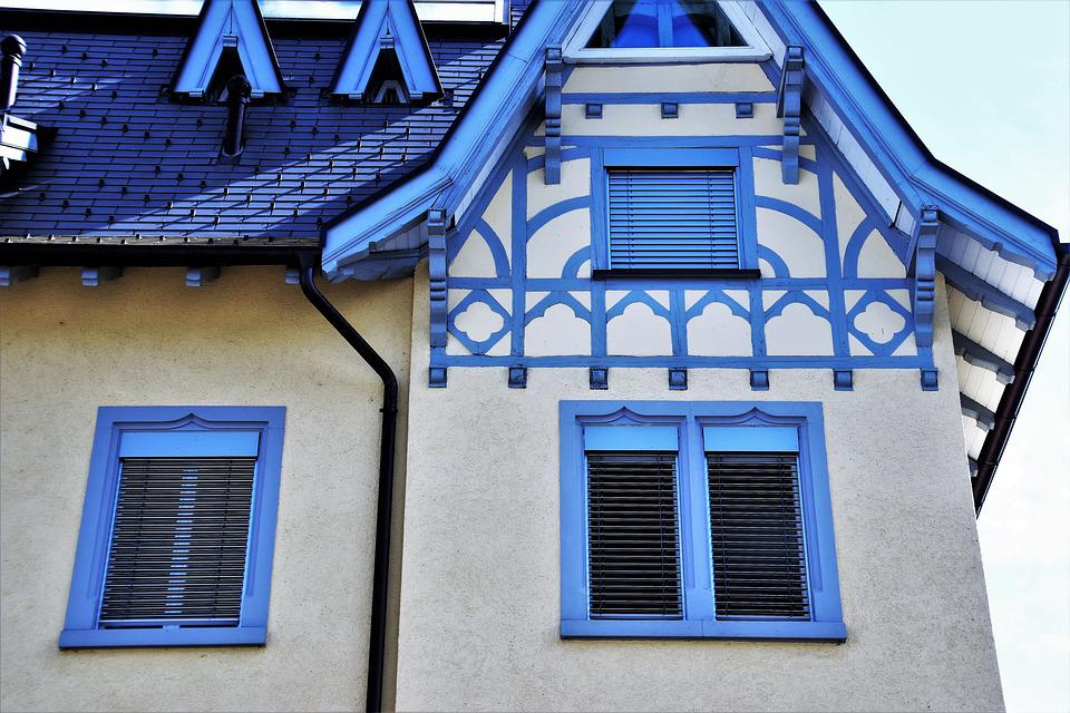 Architecture, House, Window, Building, The Roof Of The