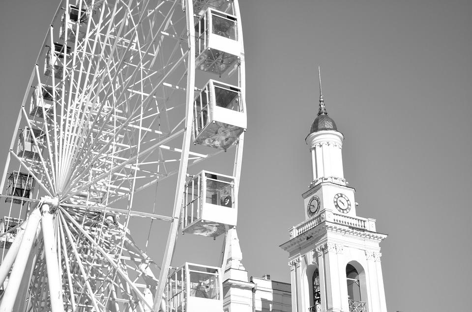 Architecture, The Urban Landscape, Tower, Ferris Wheel