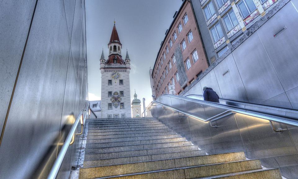 Marienplatz, Munich, Town Hall, Bayern, Architecture