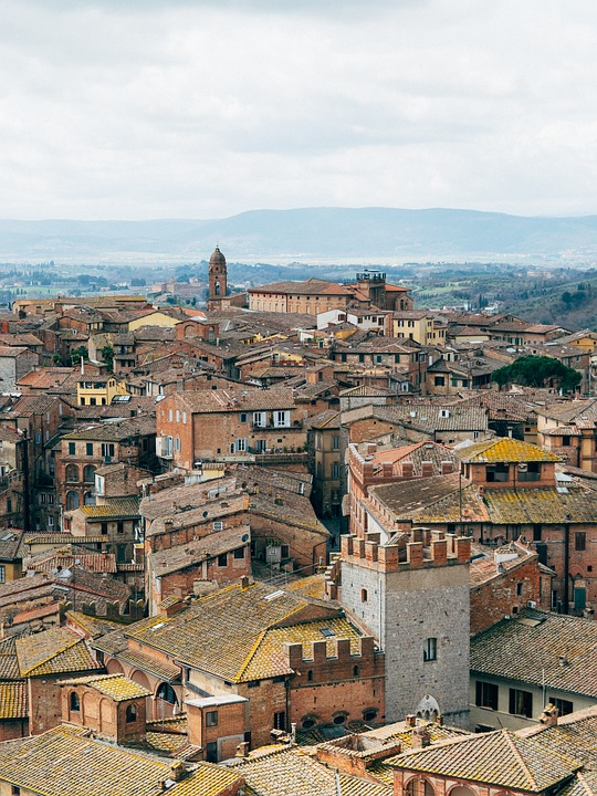 City, Architecture, Cityscape, Town, Panoramic, Italy