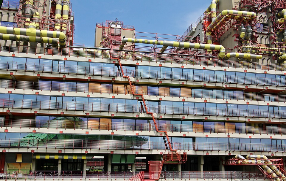 Architecture, Universitätsklinik, Hospital, Clinic