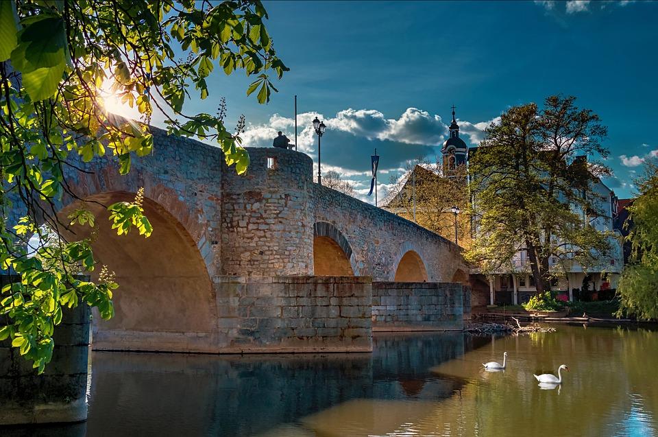 Architecture, Bridge, Water, Landscape, Urban, City