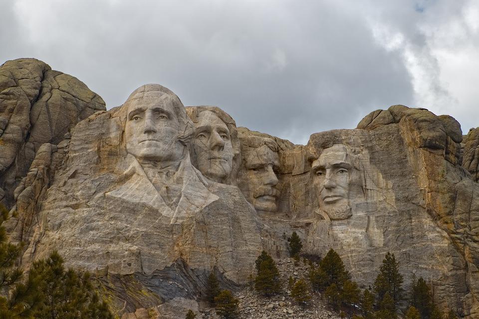 Mt, Rushmore, Presidents, Usa, America, Architecture