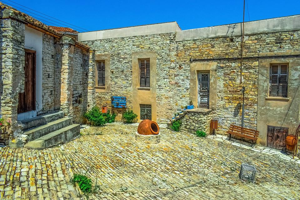 Cyprus, Lefkara, Village, Architecture, Traditional